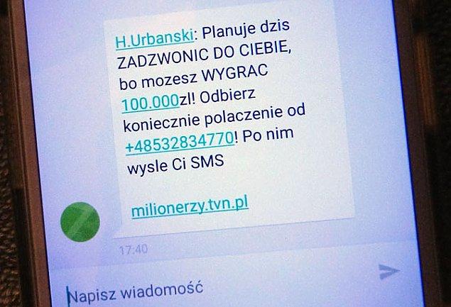 """""""Tu Hubert Urbañski z programu Milionerzy"""". Nie daj siê z³apaæ"""