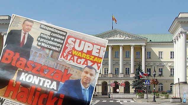 Legionowianin prezydentem Warszawy?