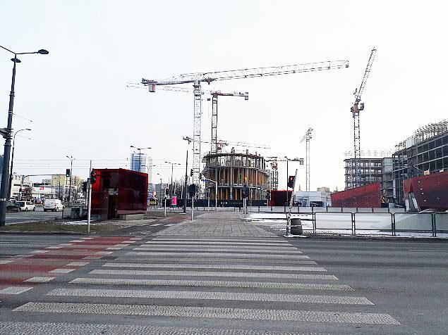 Warsaw Hub. Nowy wie¿owiec pnie siê w górê