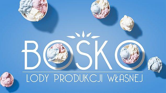 BOSKO - Lody Produkcji W³asnej. Nowa lodziarnia w centrum Legionowa.
