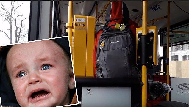 """Krzycz±ce dziecko królem autobusu. """"Nie bójmy siê przeprosiæ"""""""