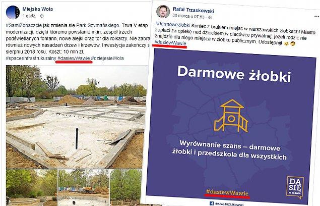 #dasiewWawie. Niedopuszczalna promocja Rafa³a Trzaskowskiego