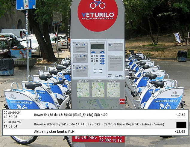 """Kosztowna pomy³ka z Veturilo. """"Pana rower czeka w Niemczech"""""""
