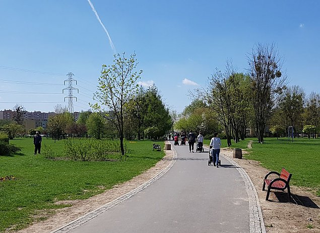 Tysi±c osób za remontem parku. Jak g³osowa³o Bemowo?