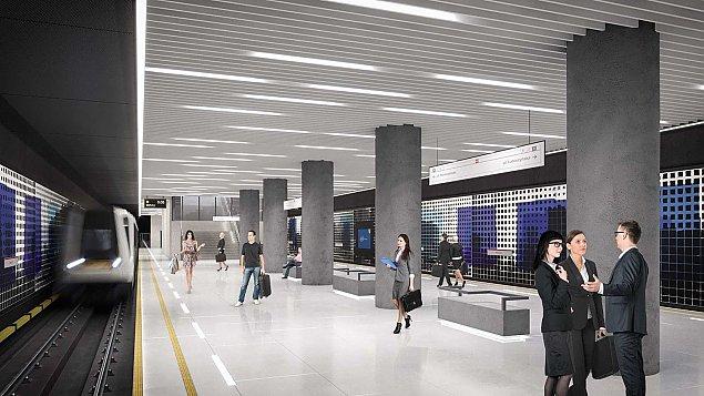 Metro na Br�dno z pozwoleniem na budow�