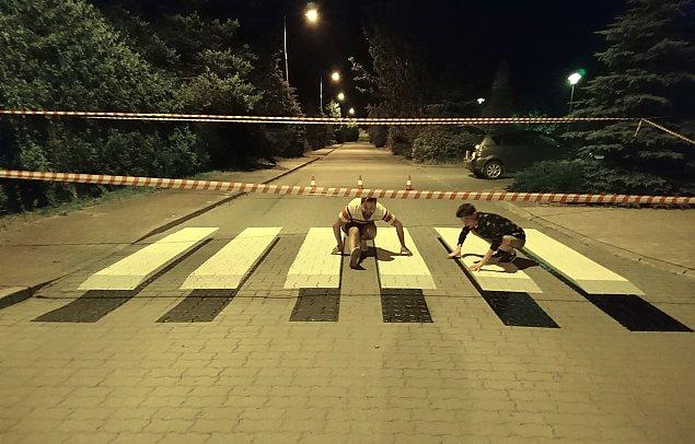 Trójwymiarowa zebra odmieni polskie drogi?