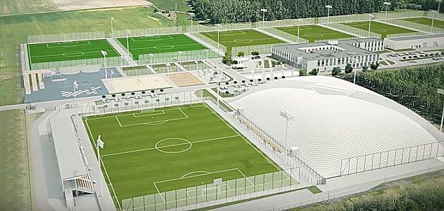 Tu b�dzie trenowa� Legia. Rusza wielka inwestycja