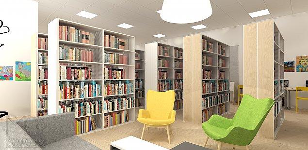Nowa biblioteka na Woli