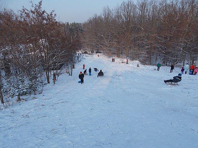 Zimowe centrum rozrywki? G�rka Delmacha podbi�a serca dzieci