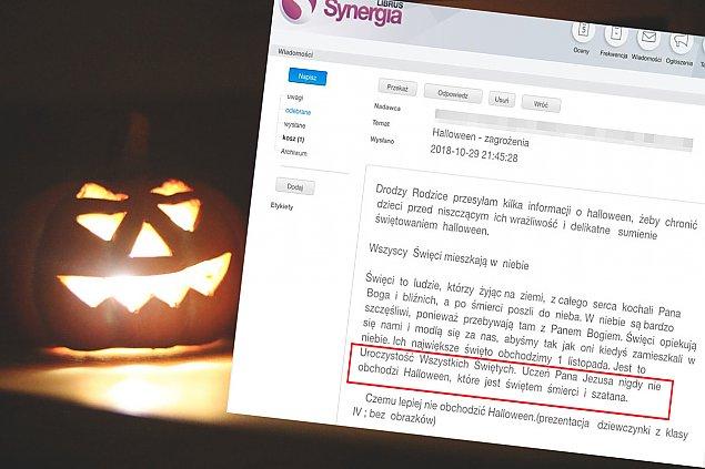 """Halloween to ¶wiêto Lucyfera"". Katecheci apeluj±"