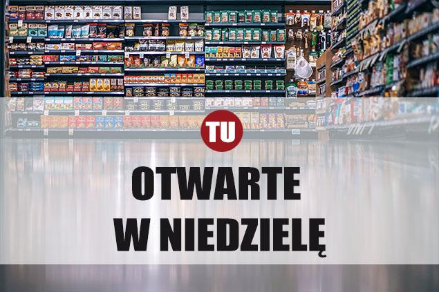 Niedzielne zakupy na Bemowie. Lista sklepów