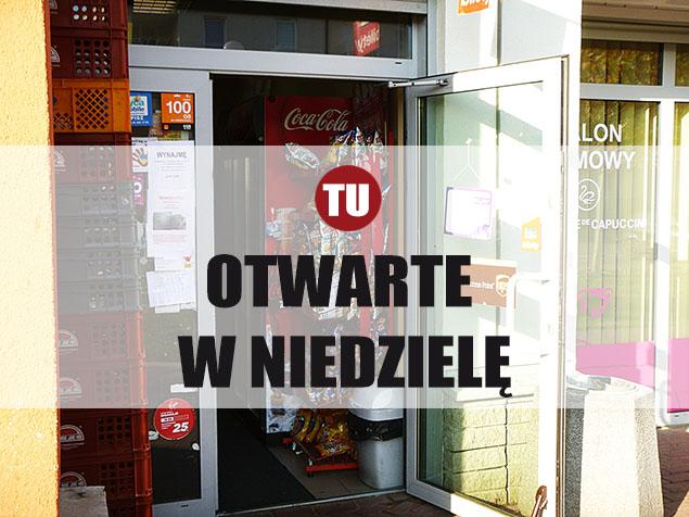 Niedzielne zakupy na Bielanach. Lista sklepów