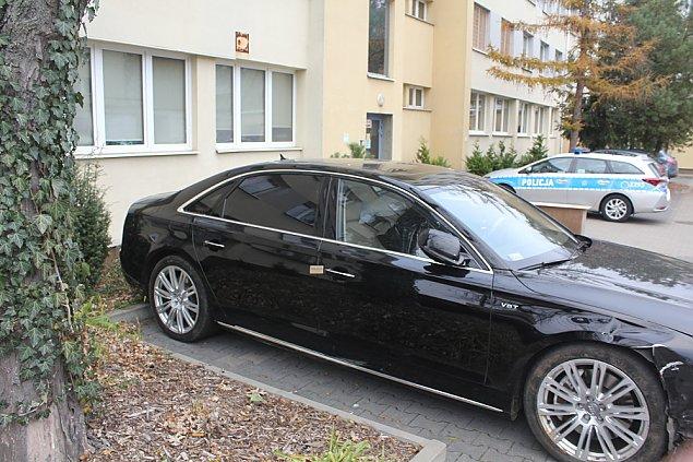 Dziwna kradzie¿ auta. Audi za 175 tys. z³ odzyskane