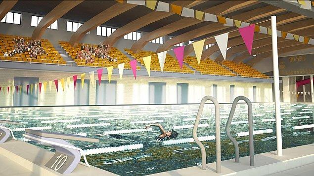 ¦mia³a wizja dla Bia³o³êki: basen olimpijski przy Ostródzkiej