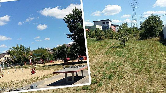 Park i plac zabaw na �eraniu wci�� w powijakach