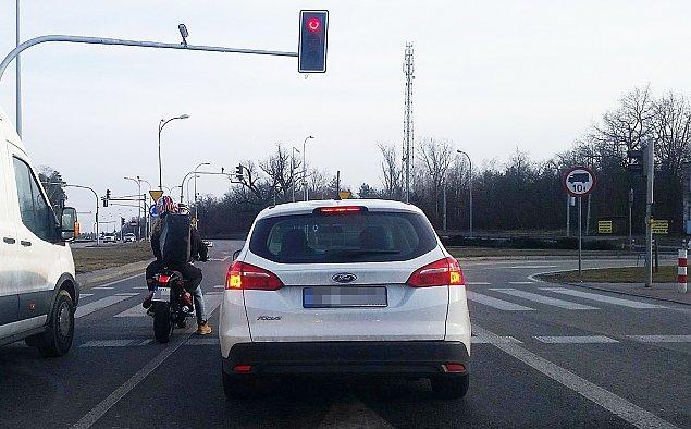 """Motocyklem po buspasie. """"Pozytywne wyniki"""""""