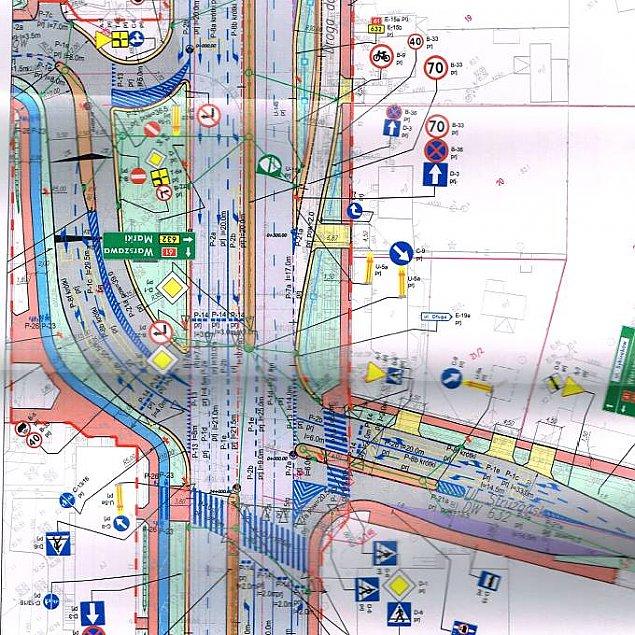 Zegrzy�ska w przebudowie: znamy projekt skrzy�owania na Piaskach