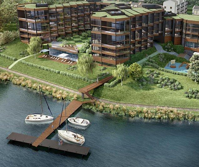 S�d wstrzymuje budow� apartamentowca nad zalewem