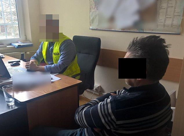Udawa³ policjanta, ukrad³ 450 tys. z³