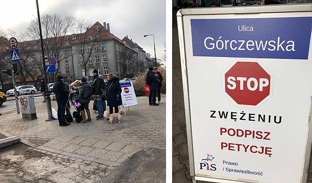 """""""Nie zwê¿ajcie Górczewskiej!"""". Radni PiS zbieraj± podpisy"""