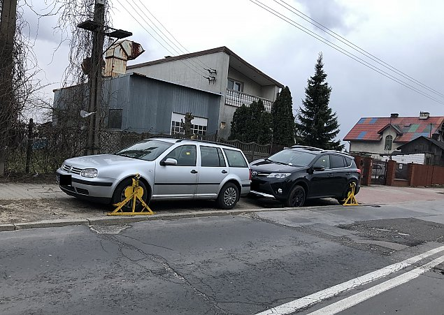 Kara za parkowanie na piachu. Stra¿nicy w akcji