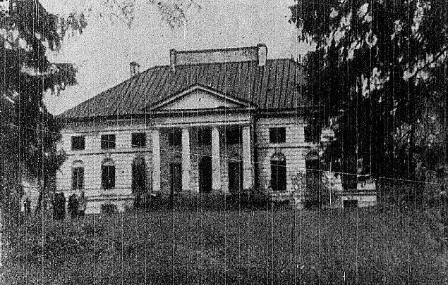 """Pa�ac w M�ochowie: miejscowy """"Belweder"""""""