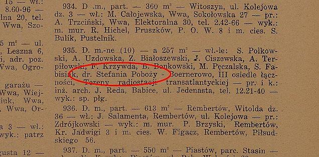 Doktor Pobo�y buduje na Boernerowie