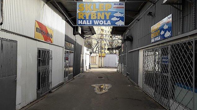 """Co zamiast bazaru przy Hali Wola? """"Musimy si� zmieni�"""""""