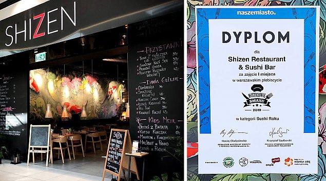 Shizen pobi�o konkurencj�. Najlepsze sushi w Warszawie?