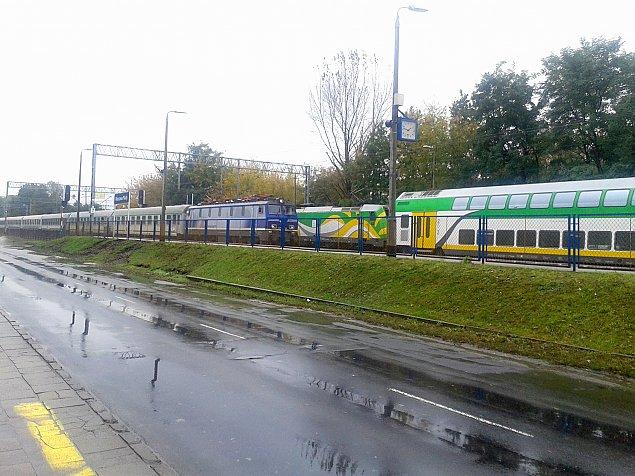 Linia kolejowa do przebudowy. B�dzie czwarty tor