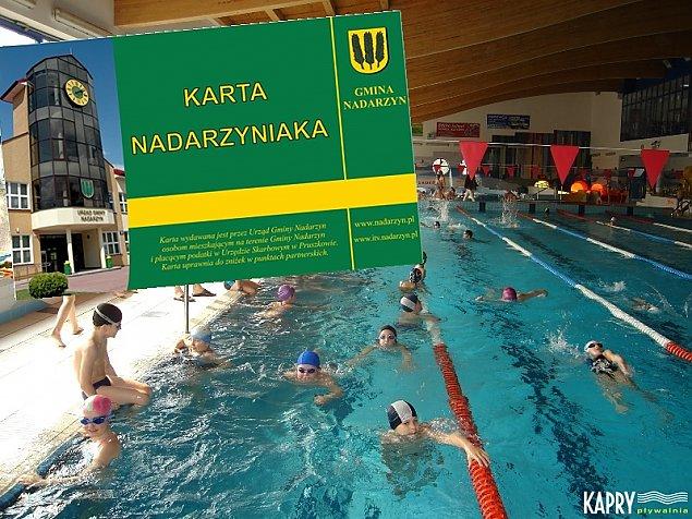 Op�acalna Karta Nadarzyniaka. Zni�ki na basen