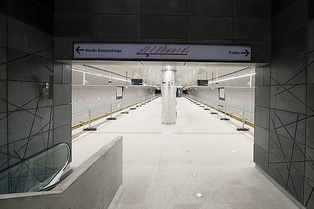 Oficjalnie: Metro na Targówku gotowe. Zobacz zdjêcia