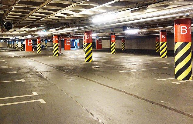 Galeria M�ociny: znamy cennik parkowania