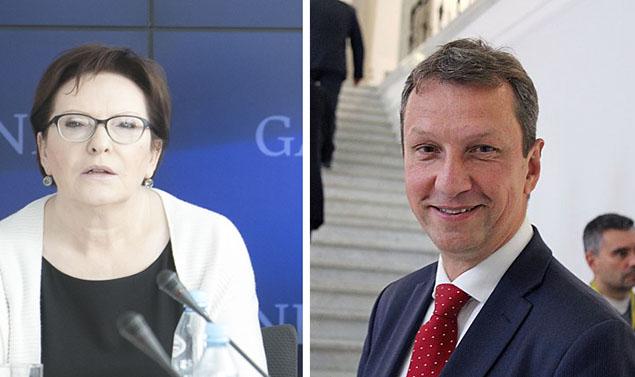 Kopacz i Halicki jad� do Brukseli. Syn Mazowieckiego do Sejmu?