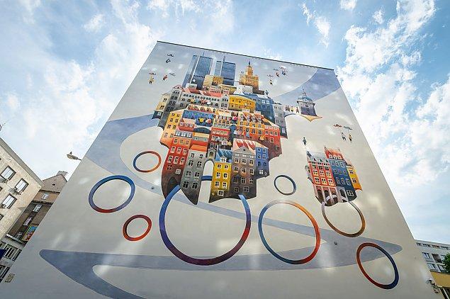 Warszawa jak ze snu. Mamy nowy mural