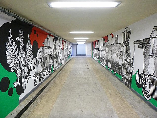 Legionowo ozdobione muralami. Kt�ry najlepszy?