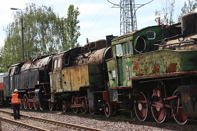 Dworzec G��wny: Zabytkowe poci�gi odjecha�y