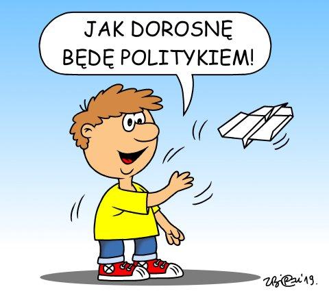 B�d� politykiem