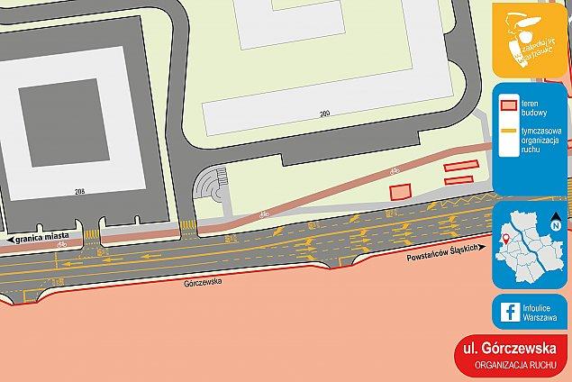 Rusza budowa stacji metra. Zmiany na G�rczewskiej