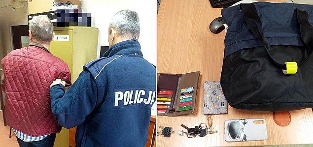 Sukces policji z Nadarzyna. Schwytali z�odzieja damskiej torebki