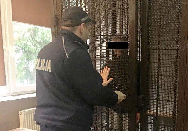 Interwencja policji na S�odowcu. Grozi� �mierci� w spo�ywczaku