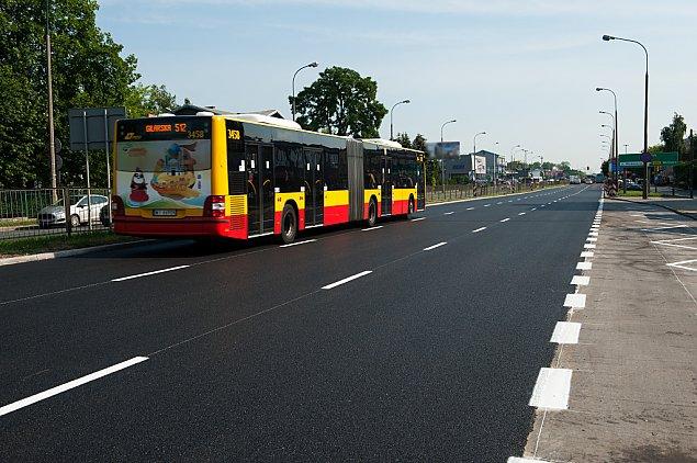Radzymi�ska: b�dzie drugi buspas
