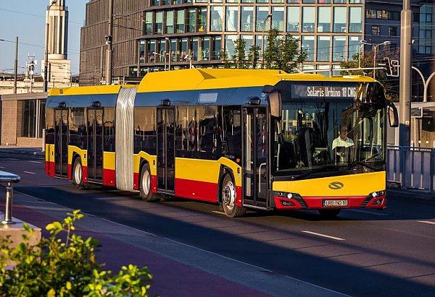 Autobusem przez most do metra. Nowa linia z Wawra