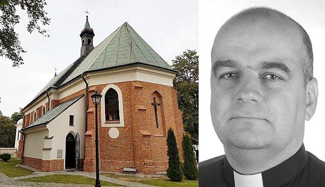 Zmar³ Piotr Urbanowski, ksi±dz z Tarchomina