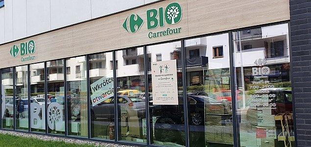 Carrefour Bio na Bemowie. Czy to si� przyjmie?
