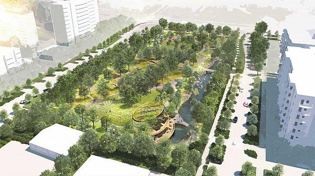 """Nowy park na Tarchominie. """"Jeste�my coraz bli�ej celu"""""""