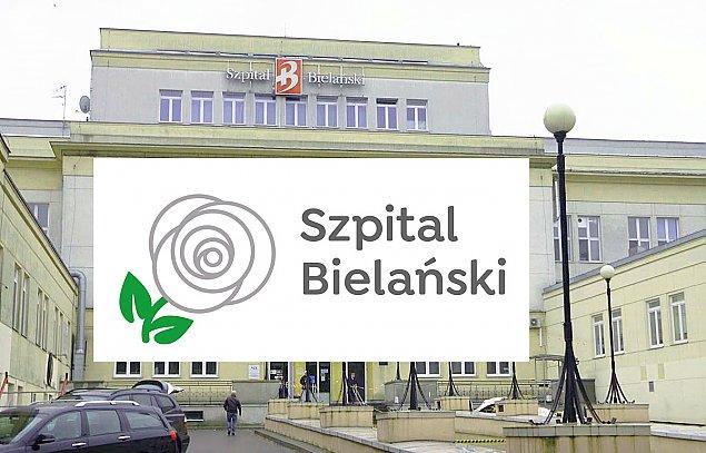 """Szpital Bielañski zmienia logo. Ma generowaæ """"pozytywny przekaz"""""""