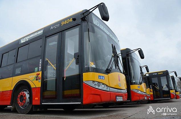 Prawie 150 autobusów nie wyjedzie na ulice. Umowa z Arriv± zawieszona