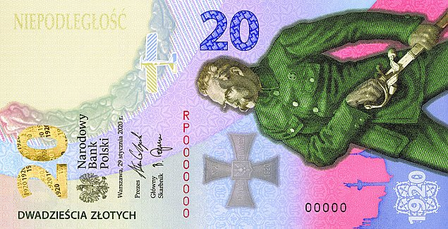 Nowy banknot upamiętniający Bitwę Warszawską 1920 roku
