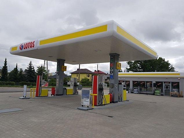 Wybuch na stacji paliw przy Łodygowej